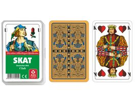 ASS Altenburger Spielkarten Skat deutsches Bild Kornblume