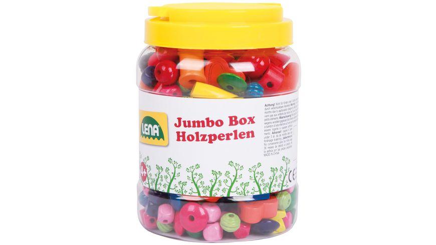 Lena - Holzspielzeug - Jumbo Box Holzperlen