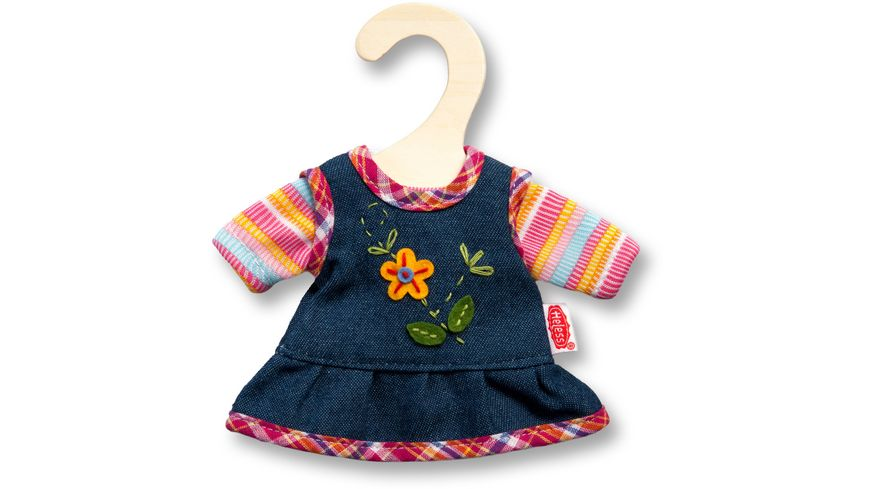 Heless Peppiges Kleid mit T Shirt mini Gr 20 25 cm sortiert