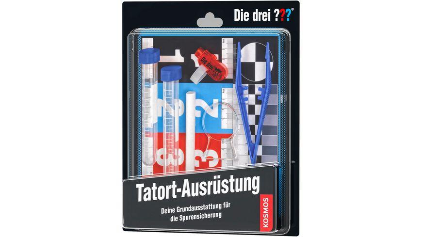 KOSMOS Drei Tatort Ausruestung