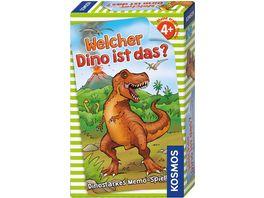 KOSMOS Welcher Dino ist das Dinostarkes Memo Spiel