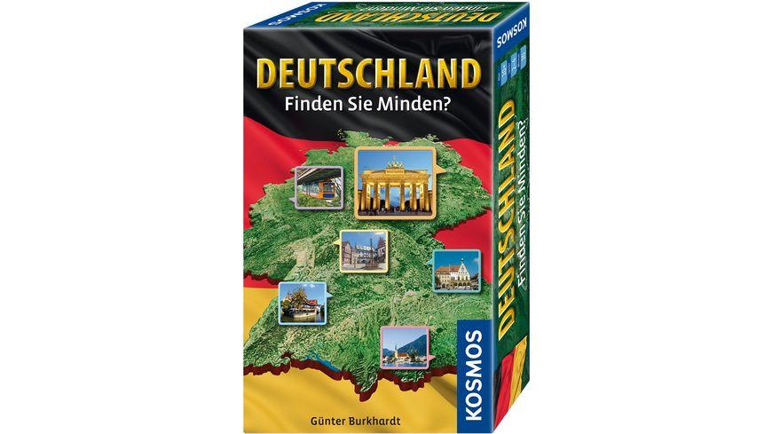 KOSMOS Deutschland Finden Sie Minden Reisespiel