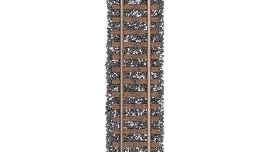 BUSCH 7124 HO N Schottermischung schwarz grau