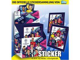 Topps UEFA Champions League Sticker 2018 19 1 Sticker Paeckchen