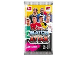Topps Bundesliga Match Attax 2018 19 Kartenpaeckchen