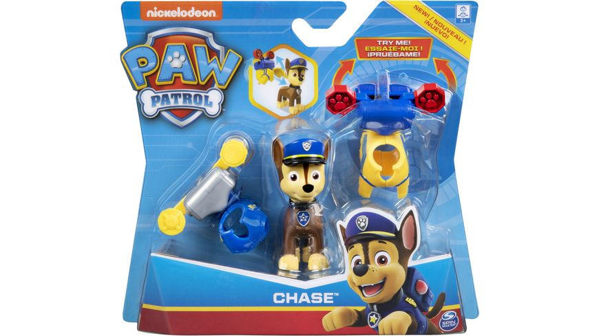 Spin Master - Paw Patrol - Action Pack Pups (Deluxe Figure), 1 Stück, sortiert