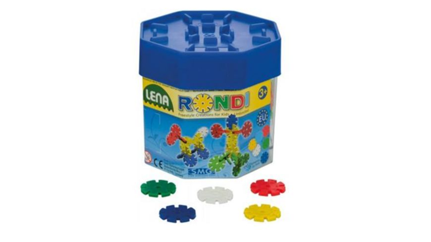 Lena Pre School Rondi Baudose 1 Stueck sortiert
