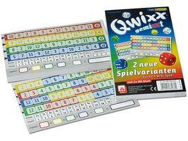 Nuernberger Spielkarten Qwixx gemiXXt Zusatzbloecke 2er