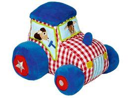 Die Spiegelburg Baby Glueck Traktor mit Vibrations und Soundmodul
