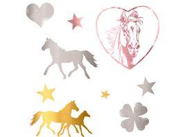Die Spiegelburg Pferdefreunde Metallic Tattoos