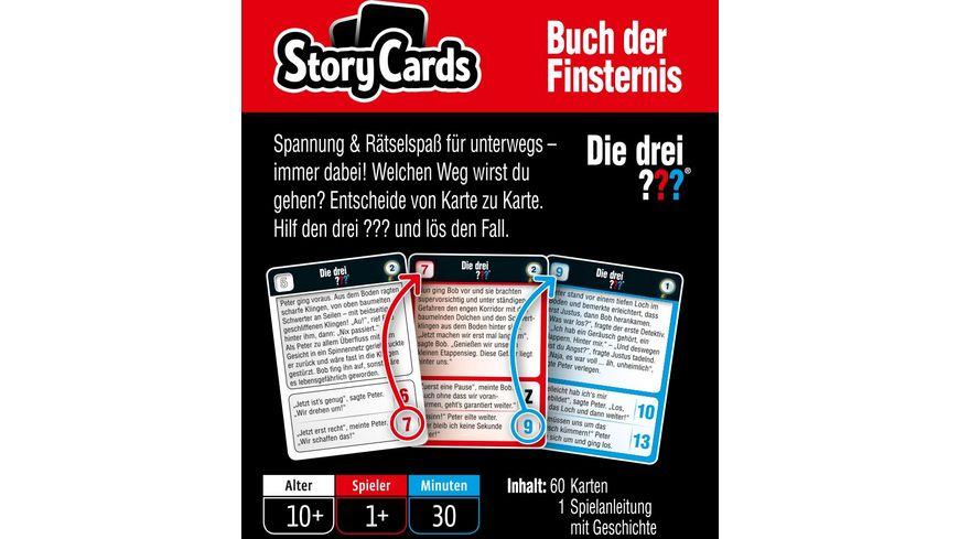 KOSMOS StoryCards Die drei Buch der Finsternis