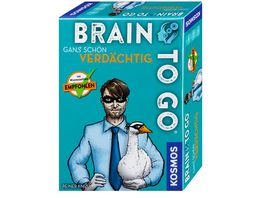 KOSMOS Brain to go Gans schoen verdaechtig