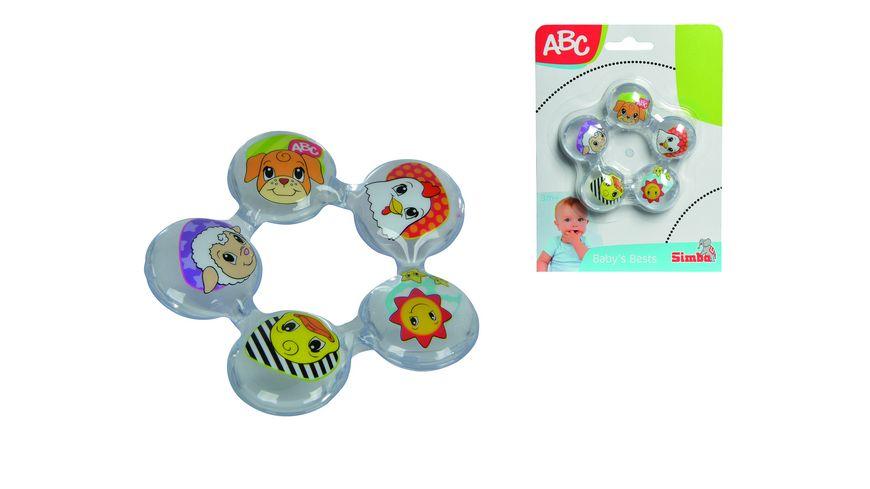 Simba ABC Beissring mit Wasserfuellung