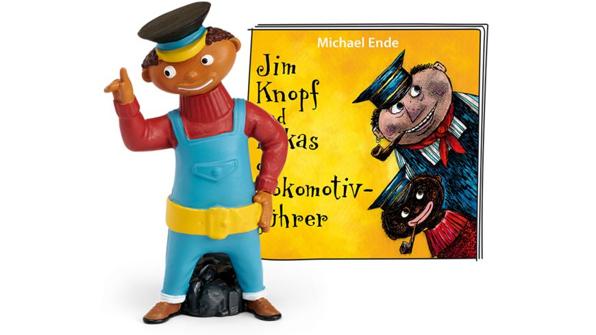 tonies Hoerfigur fuer die Toniebox Jim Knopf Jim Knopf und Lukas der Lokomotivfuehrer