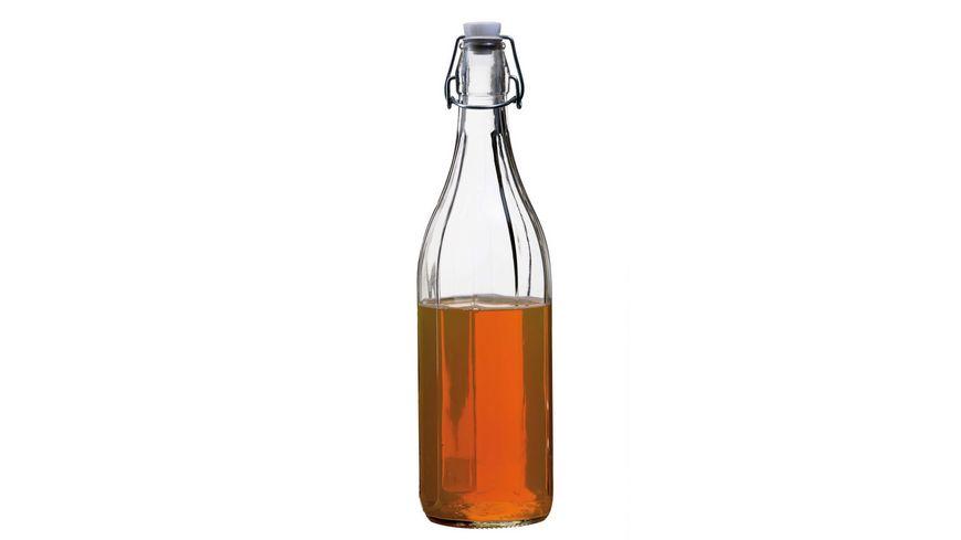 MAeSER Glasflasche mit Buegelverschluss Corso 0 75l