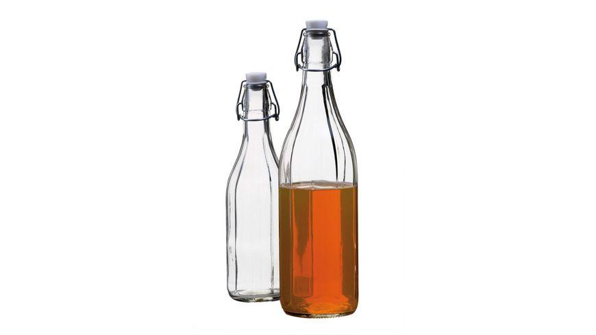 MAeSER Glasflasche Corso Buegelverschluss 0 25 l