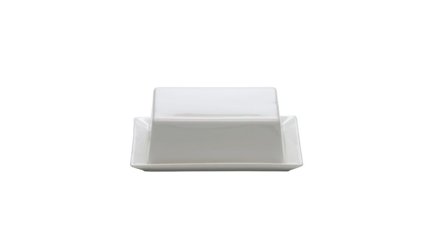 MAXWELL & WILLIAMS Kitchen Butterdose 16 x 13cm, Porzellan