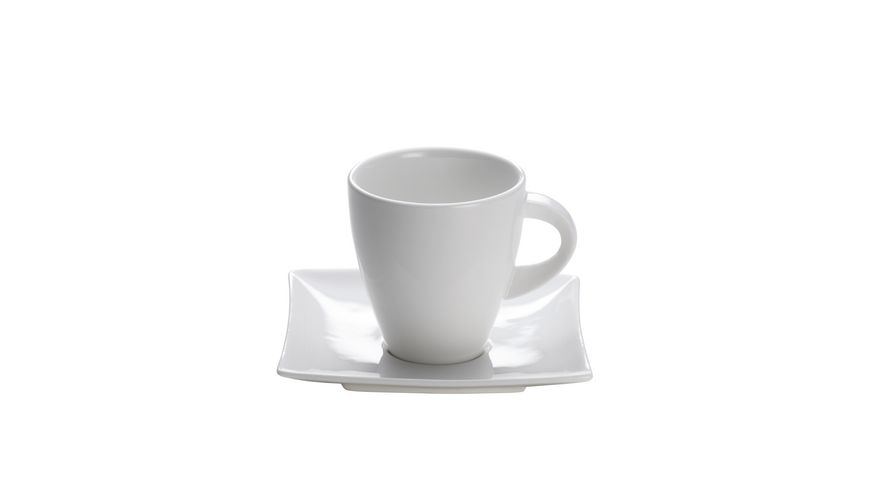 MAXWELL WILLIAMS East meets West Tasse mit Untertasse 170ml Porzellan