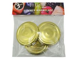 MAeSER Deckel Summer Marmelade 65 mm 3er Pack