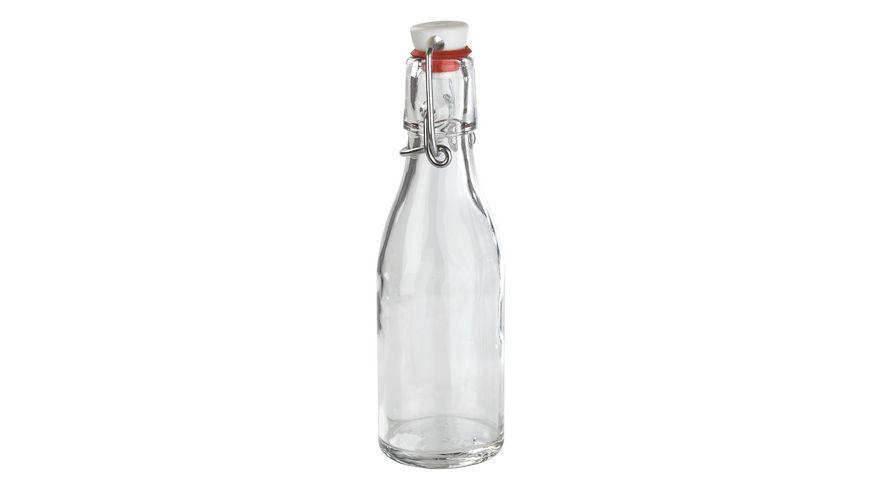 MÄSER Glasflasche mit Bügelverschluss Spirit 0,2l