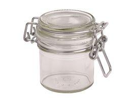 MAeSER Vorratsglas mit Buegelverschluss Gothika 0 09l