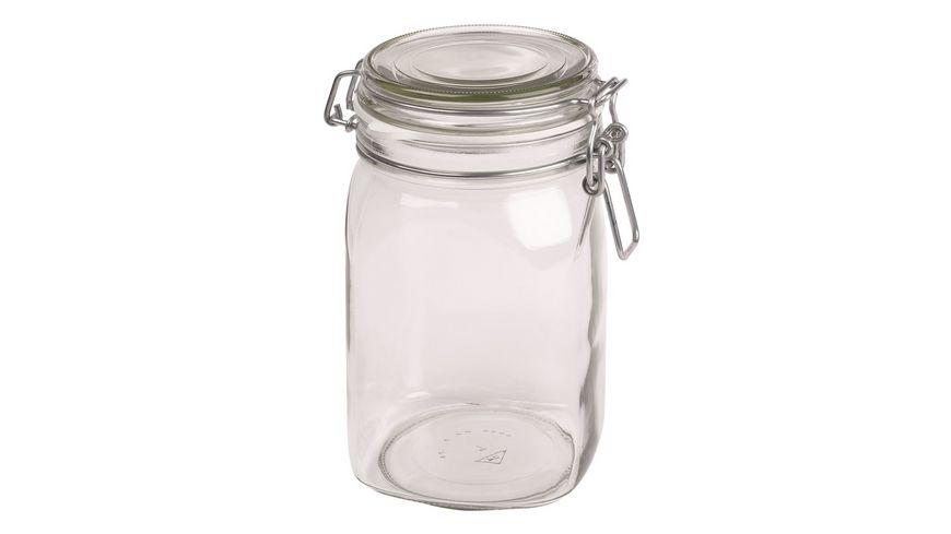MAeSER Vorratsglas mit Buegelverschluss Gothika 1 05l