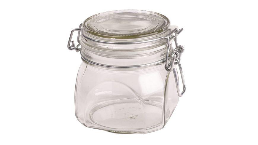 MAeSER Vorratsglas mit Buegelverschluss Gothika 0 5l
