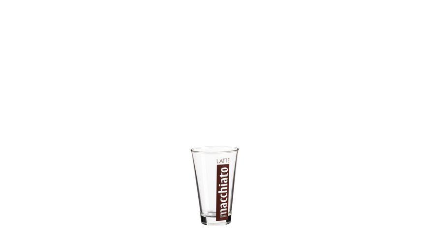 MAeSER Basic Latte Macchiato Glas 0 25 l