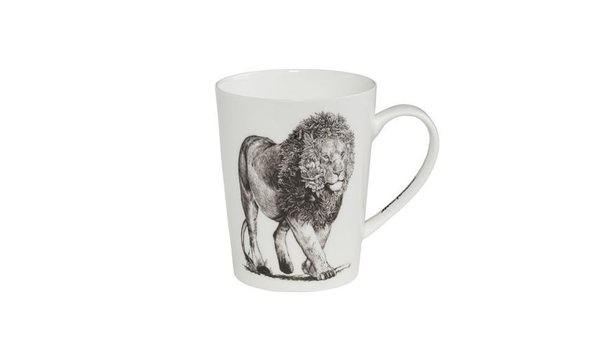 MAXWELL WILLIAMS Marini Ferlazzo Becher African Lion Bone China Porzellan