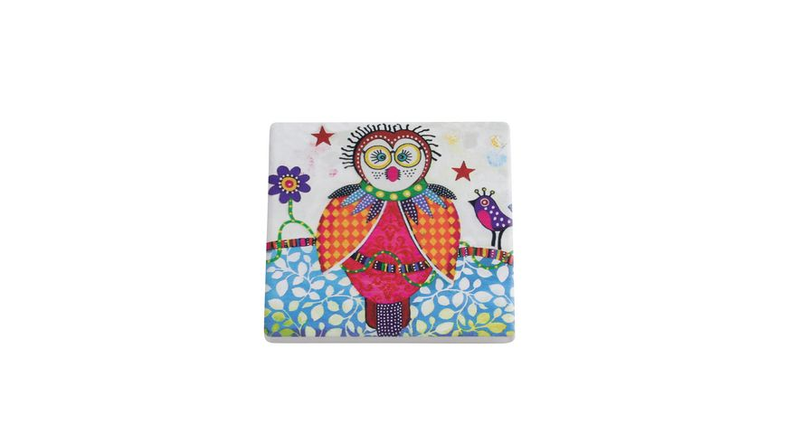 MAXWELL WILLIAMS Smile Style Untersetzer Boobook Keramik Kork