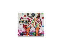 MAXWELL WILLIAMS Smile Style Untersetzer Tabby Keramik Kork