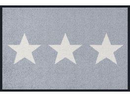 wash dry Fussmatte Stars grey 40x60cm