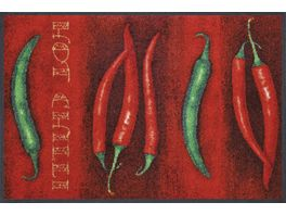 wash dry Fussmatte Hot Chilli 50x75cm