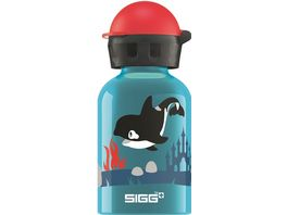 SIGG Kids Trinkflasche Orca Family 0 3 l