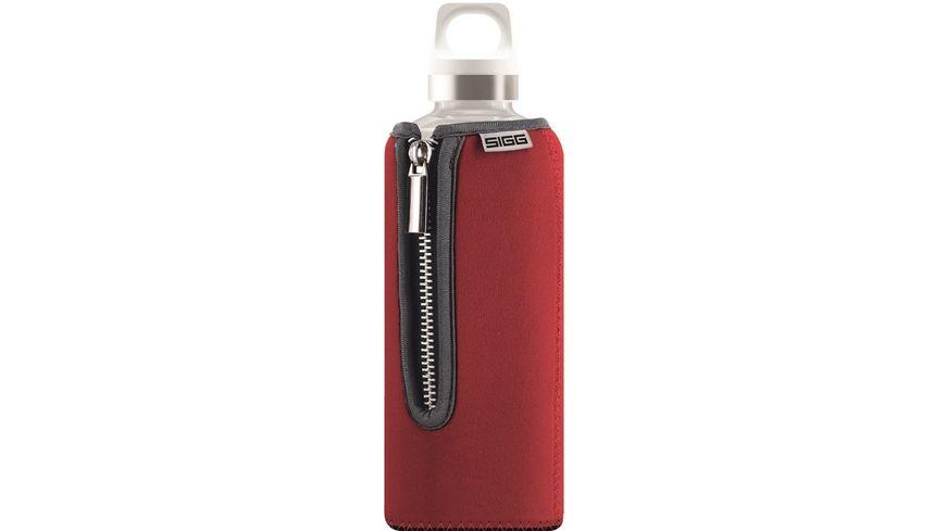 SIGG Trinkflasche Glas Stella Red 0,5 l