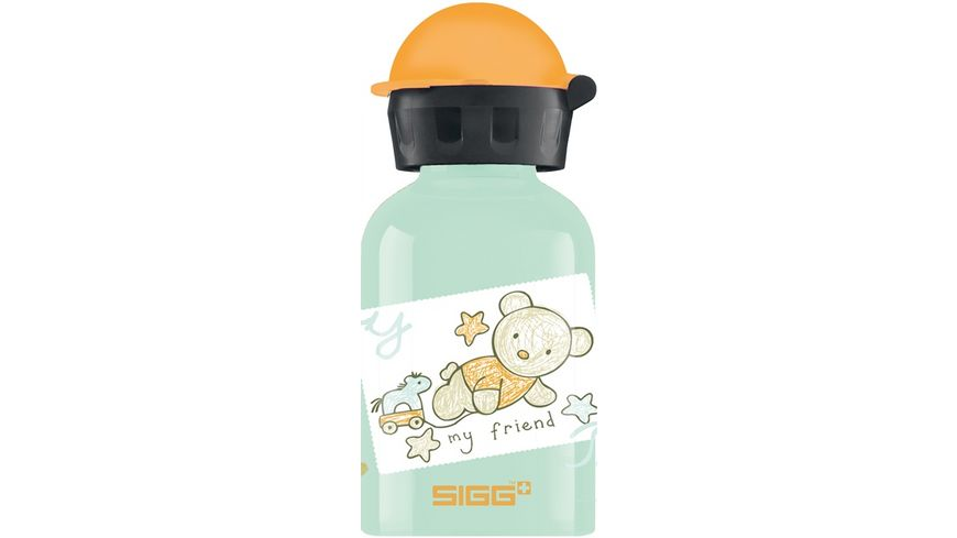 SIGG Kids Trinkflasche Aluminium Bear Friend 0 3 l