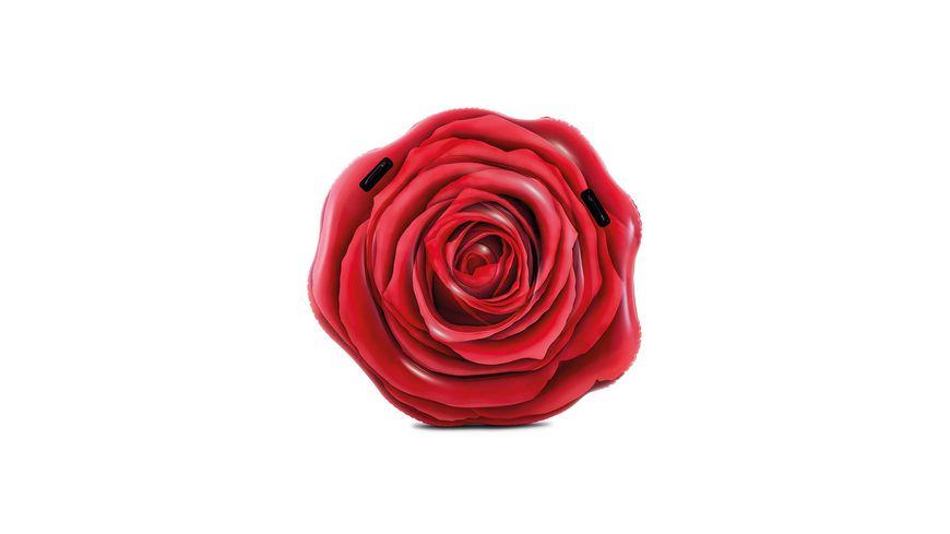 Intex Luftmatratze Rote Rose 137 x 132 cm