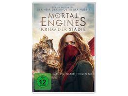 Mortal Engines Krieg der Staedte DVD