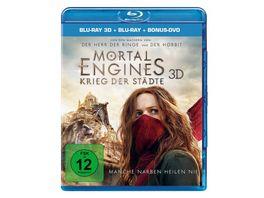 Mortal Engines Krieg der Staedte 3D Blu ray Blu ray 2D