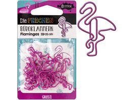 GRUSS CO Bueroklammern Flamingos