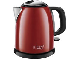 Russell Hobbs Colours Plus Flame Red Mini Wasserkocher 24992 70