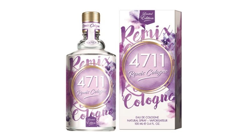 4711 Remix Cologne Lavendel Eau de Cologne Natural Spray