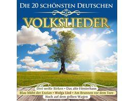 Die 20 schoensten deutschen Volkslieder