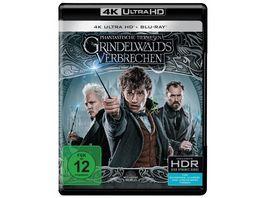 Phantastische Tierwesen Grindelwalds Verbrechen Kinofassung auf 4K Ultra HD Blu ray Extended Cut auf Blu ray