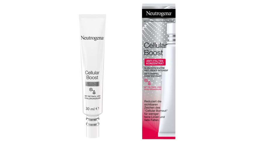 Neutrogena Cellular Boost Anti Falten Konzentrat