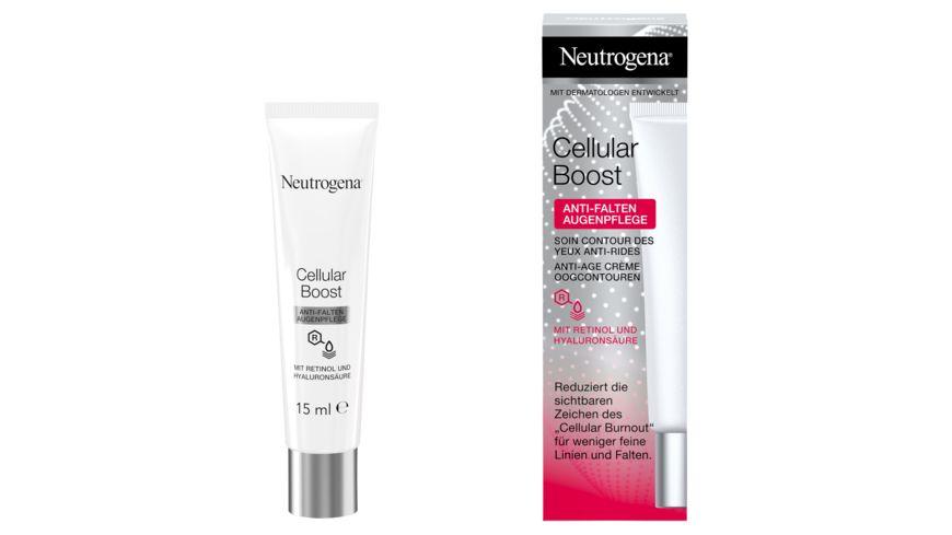 Neutrogena Cellular Boost Anti Falten Augenpflege