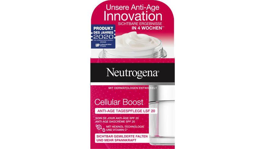 Neutrogena Cellular Boost Anti-Age Tagespflege LSF 20