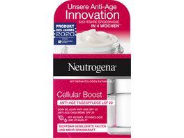 Neutrogena Cellular Boost Anti Age Tagespflege LSF 20