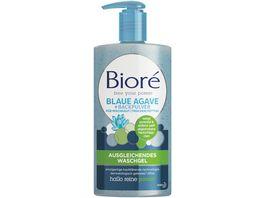 Biore Ausgleichendes Waschgel mit Blaue Agave Backpulver