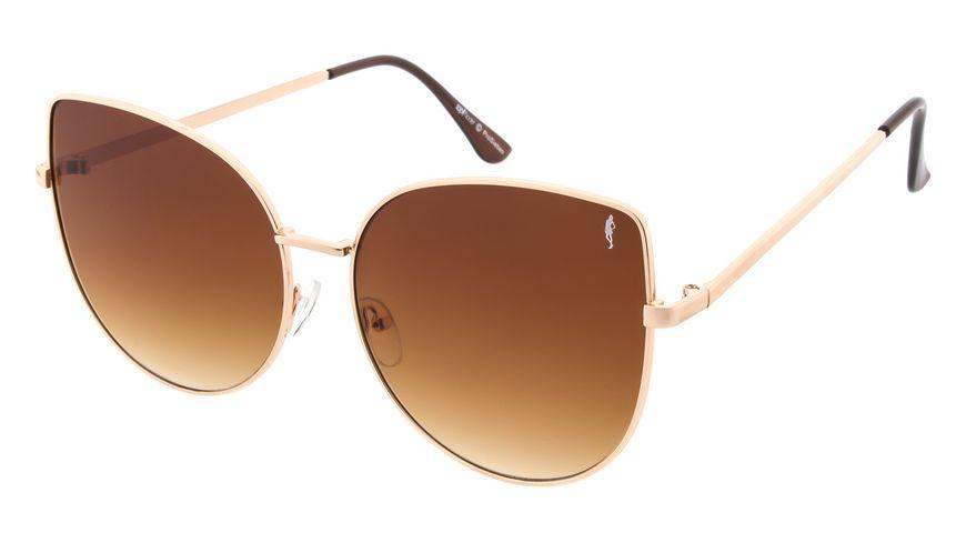 GNTM Sonnenbrille gold mit Verlaufsglaesern